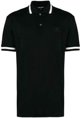Roberto Cavalli heraldic logo polo shirt