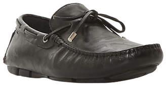 Dune Bosston Driver Shoes, Black