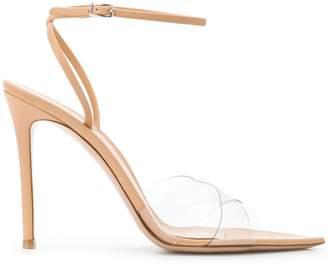 Gianvito Rossi transparent strap sandals