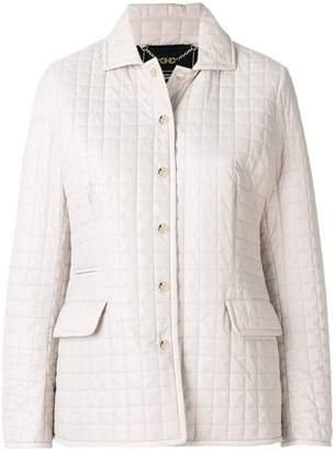 Salvatore Ferragamo quilted button jacket