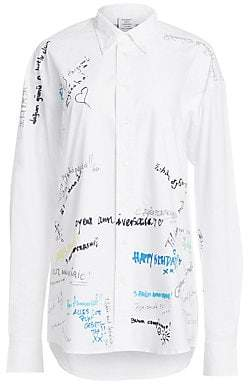 a03ac064 Crisp White Long Sleeve Women Button Down Shirt - ShopStyle