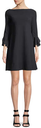 Chiara Boni Acurabis Short Cocktail Dress w/ Studded Cuffs