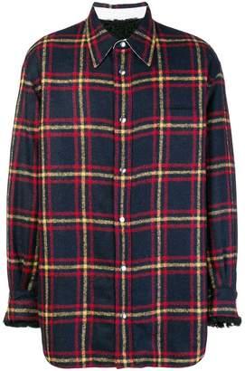 Calvin Klein lightweight plaid jacket