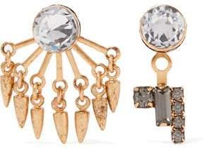 Joslyn Gold-Tone Crystal Earrings