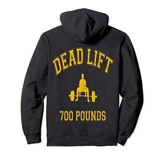 Style Dead Lift 700 Pound Club Hoodie and tee