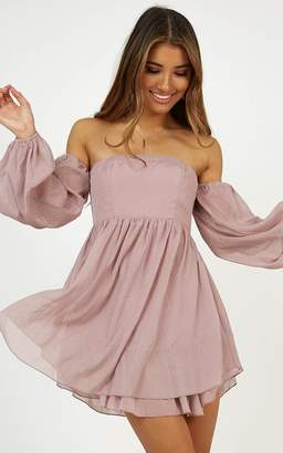 Showpo Night fever dress in violet - 6 (XS) Sale Dresses