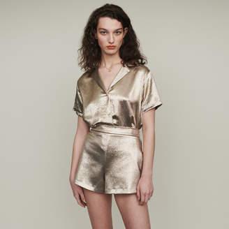 Maje Shorts in silk blend