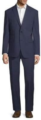 Vince Camuto Plaid Wool Suit