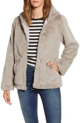 Vigoss Faux Fur O-Ring Jacket