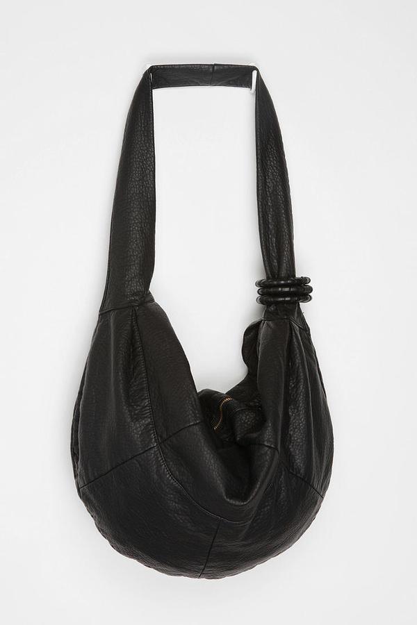 Deena & Ozzy Oversized Tri-Ring Hobo Bag