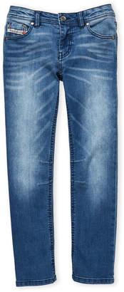 Diesel Boys 8-20) Waykee J US Regular Straight Jeans