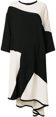 Henrik Vibskov Fab colour block oversize dress