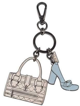 Burberry Handbag Charm Keychain beige Handbag Charm Keychain