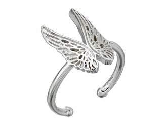 Alex and Ani Guardian Angel Statement Adjustable Ring - Precious Metal