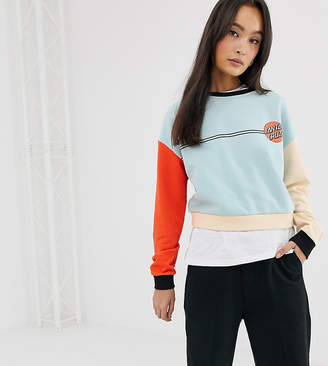 Santa Cruz OG Classic Dot sweatshirt in multi