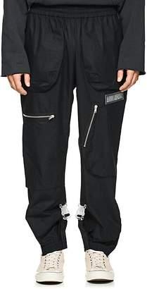 Off-White c/o Art Dad Men's Shuttle Cotton Poplin Track Pants