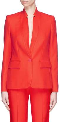 Stella McCartney 'Fleur' notched high collar blazer