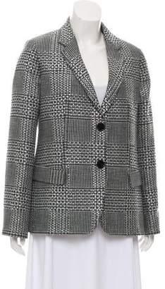 Emporio Armani Strass Wool Blend Blazer