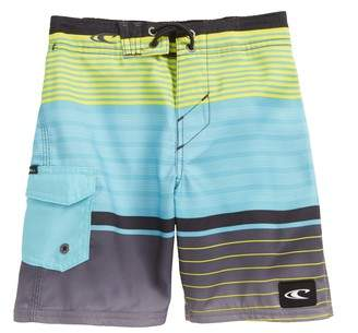 Lennox Stripe Board Shorts