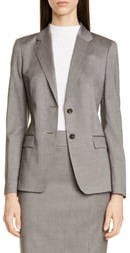 BOSS Jasuala Wool Suit Jacket