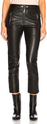 Etoile Isabel Marant Leather Aya Pant