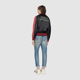 "Gucci ""Spiritismo"" silk bomber jacket"