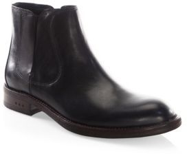 John Varvatos Waverly Covered Chelsea Boots $298 thestylecure.com