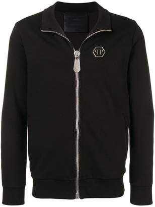 Philipp Plein Dollar zip-up jacket
