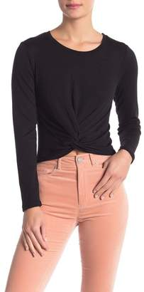 Cotton On & Co. Jennine Knot Front Long Sleeve Top