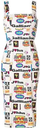 John Galliano Pre-Owned Formula 1 dress