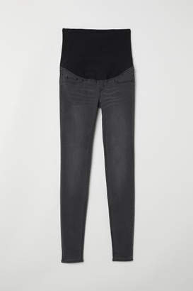 H&M MAMA Super Skinny Jeans - Gray