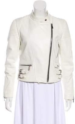 Barbara Bui Motto Leather Jacket