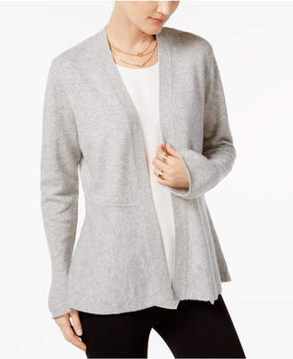 Charter Club Cashmere Peplum Cardigan, Only at Macy's $159 thestylecure.com