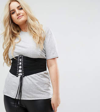 Asos Strapping Wide Lace Up Corset Belt