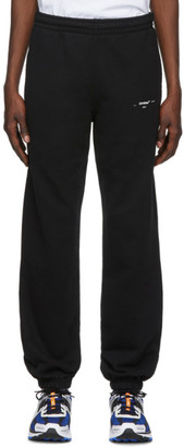 Off-White Off White Black and White Logo Slim Lounge Pants