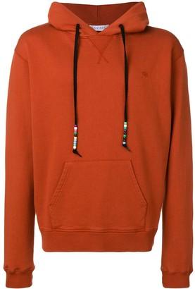 J.W.Anderson saffron Beaded string hoody