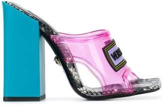 Versace vintage logo high-heel sandals