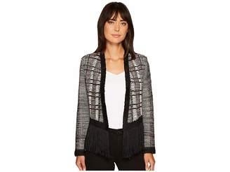 Nic+Zoe Fall Fringe Jacket Women's Coat