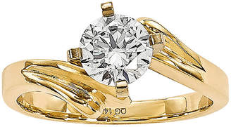 MODERN BRIDE 3/4 CT. Diamond 14K Yellow Gold Solitaire Ring