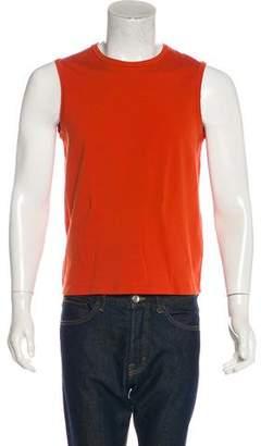 Prada Knit Sleeveless T-Shirt