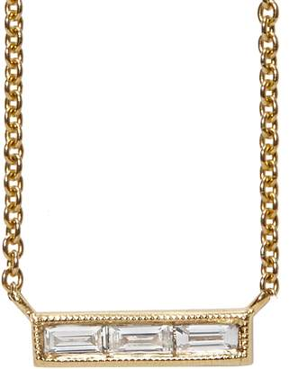 Couture Sethi Diamond Baguette Necklace