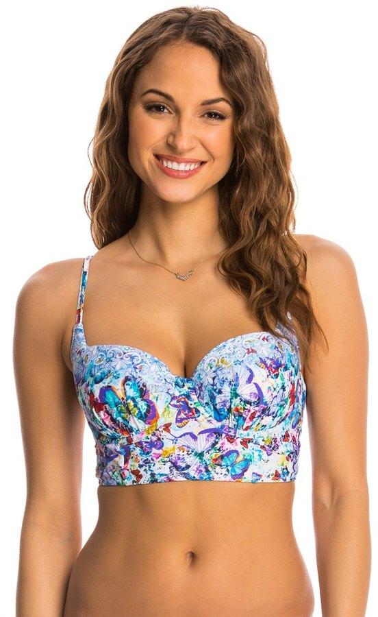 Profile Blush Wings of Desire Underwire Bralette Bikini Top (D/E/F Cup) 8140262