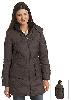 Calvin Klein Pile Lined Collar Packable Down Coat
