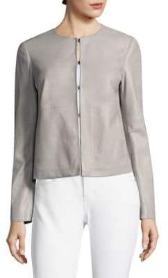 Escada Sport Short Leather Jacket