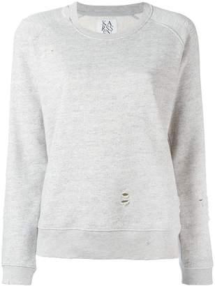 Zoe Karssen destroyed sweatshirt