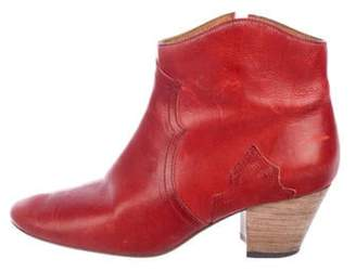 Isabel Marant Dicker Leather Boots Dicker Leather Boots