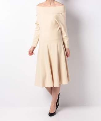 And Couture (アンド クチュール) - 【50%OFF】アンドクチュールRy/NyオフショルニットOPレディースサックスM【And Couture】【セール開催中】