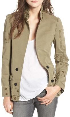 Women's Zadig & Voltaire Vladimir Grunge Utility Jacket $348 thestylecure.com