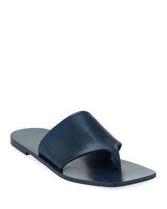 The Row Flat Napa Leather Thong Sandal
