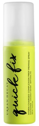 Urban Decay Quick Fix Hydra-Charged Complexion Prep Priming Spray $15 thestylecure.com